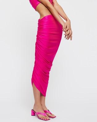 Lioness Monaco Midi Skirt - Skirts (Pink)