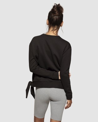 dk active Eden Top - Long Sleeve T-Shirts (Black)