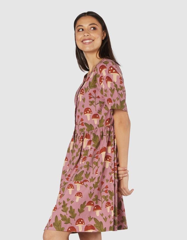 Women Mushroom Dress