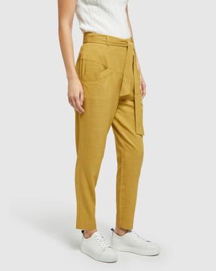 Oxford - New Sloane Pants - Pants (Yellow) New Sloane Pants