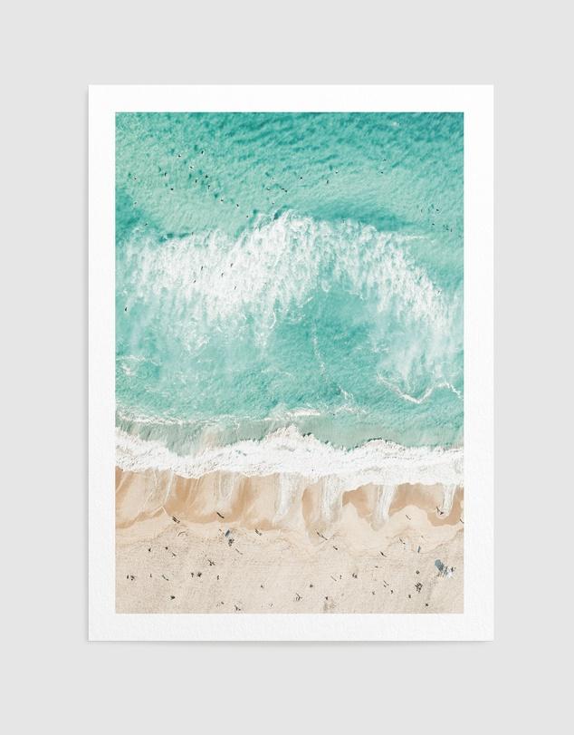 Life Sand to Sea Bondi Art Print A2