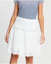 Polo Ralph Lauren - Cotton Silk Broderie Skirt
