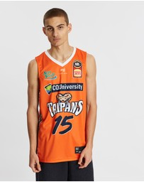First Ever - NBL - Cairns Taipans 19/20 Authentic Home Jersey - Nate Jawai
