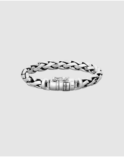 Kuzzoi - Bracelet Basic Curb Chain Cool Robust in 925 Sterling Silver