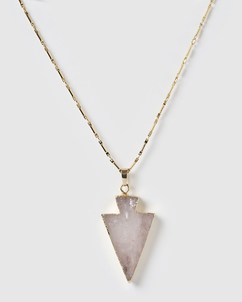 Miz Casa and Co Orient Pendant Necklace Jewellery Gold