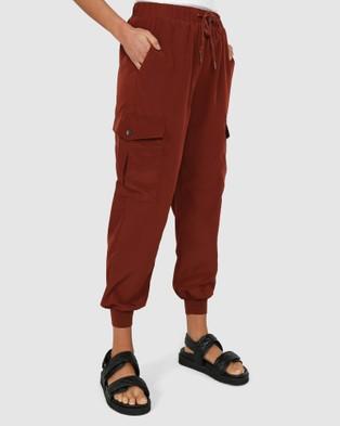 Madison The Label Jessie Joggers - Pants (Chocolate)