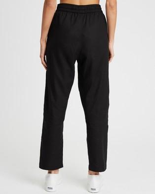 Calli Linen Blend Pants - Sweatpants (Black)