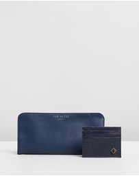 Ted Baker - Broksey Coin Tray, Cardholder & Key Ring Set