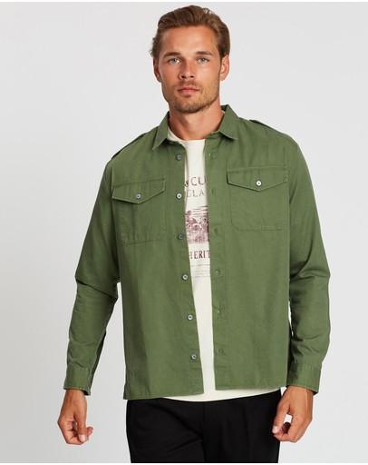 Kent And Curwen Classic Shirt Green