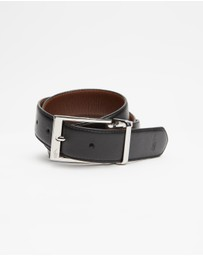 Polo Ralph Lauren - Reversible Casual Smooth Leather Belt