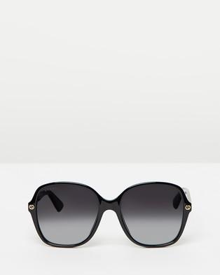 Gucci GG0092S - Square (Black & Black)