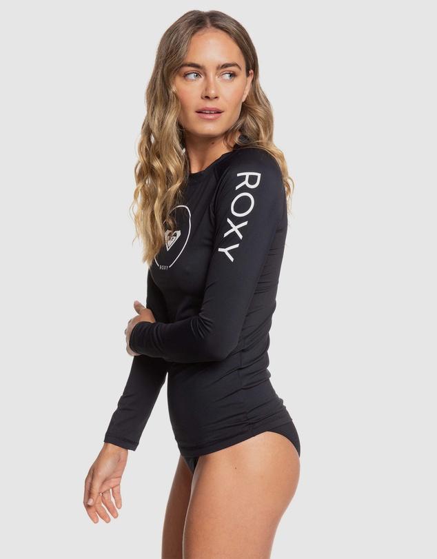 Women Womens Beach Classics Long Sleeve UPF 50 Rash Vest