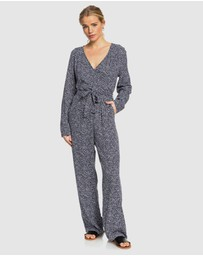 Roxy - Womens Morning Air Long Sleeved Jumpsuit