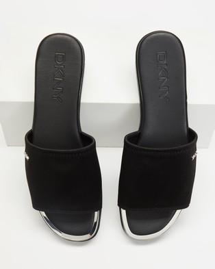 DKNY - Briley Flat Slides (Black)