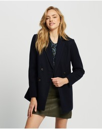 Dorothy Perkins - Double Breasted Blazer Coat