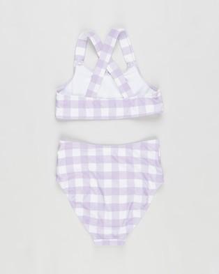 Cotton On Kids Penny Bikini   Kids - Bikini Set (Summer Violet Check)