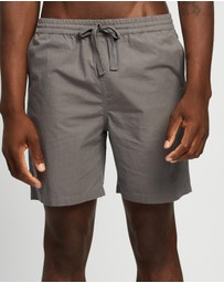 AERE - Organic Cotton Poplin Swim Short