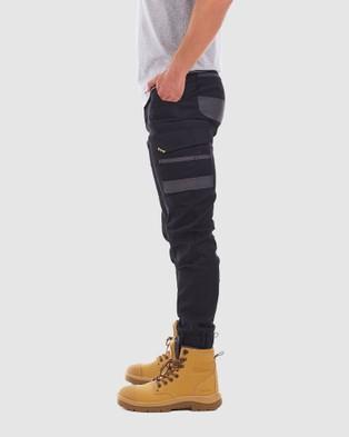 TRADIE Tradie Cuff Cargo Pants - Cargo Pants (BLACK_MJ3351SE)