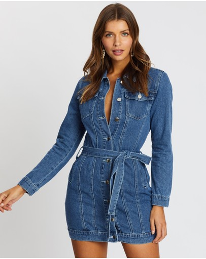Atmos&Here - Delilah Denim Dress