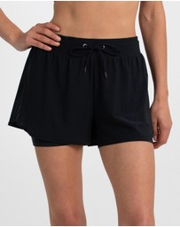 B.O.D by Rachael Finch - Interval Double Layer Shorts