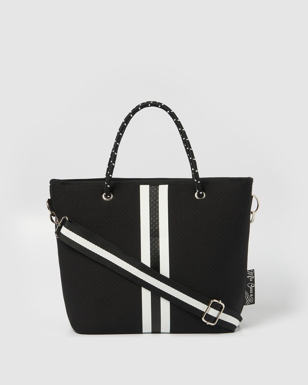 Miz Casa and Co Beverly Neoprene Mini Tote Bag Bags Black