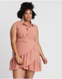 Atmos&Here Curvy - Bianca Shirt Dress
