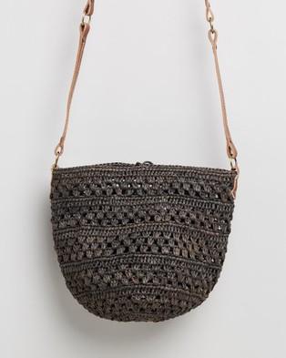 Sans Arcidet Paris Kapity Small Bag - Handbags (Charcoal)