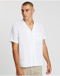 Assembly Label - Malibu Linen Short Sleeve Shirt