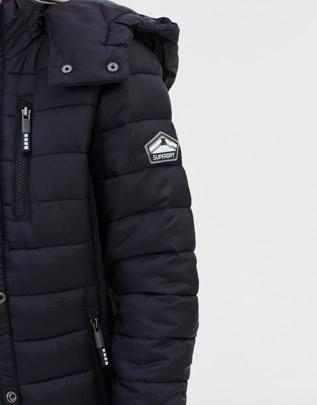 1183479c64d7 Fuji Slim Double Zip Hooded Jacket by Superdry Online