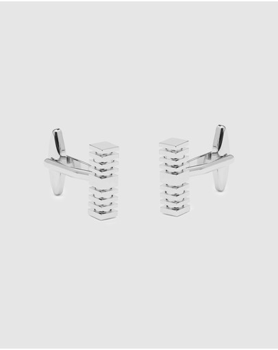 Buckle - Square Rod Cufflinks