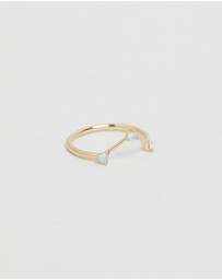 WWAKE - Three-Step Triangle Ring