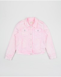 crewcuts by J Crew - Garment Dye Denim Jacket - Teens