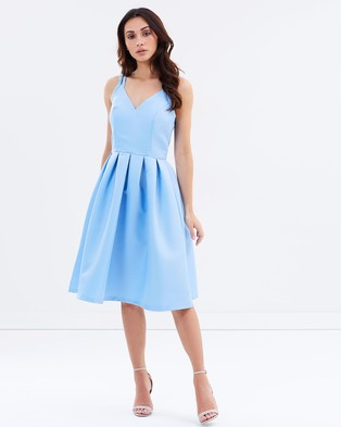 Chi Chi London – Fernanda Dress Blue