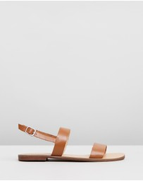 Atmos&Here - Sandy Leather Sandals