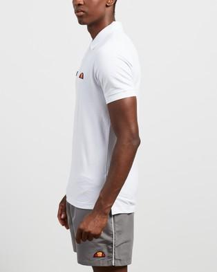 Ellesse Montura Polo Shirt - Shirts & Polos (White)