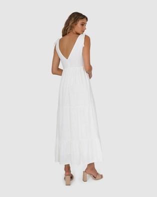 Lost in Lunar  Savannah Maxi Dress - Dresses (White)