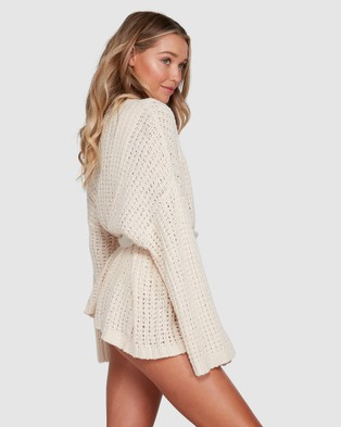 Billabong Those Days Sweater - Jumpers & Cardigans (WHITE CAP)