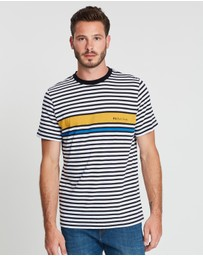 PS by Paul Smith - Regular Fit Stripe T-Shirt