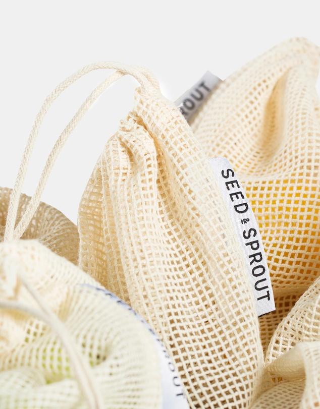 Life Organic Mesh Produce Bag - Set of 5