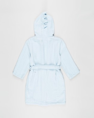 Cotton On Kids Long Sleeve Gown   Kids Teens - Sleepwear (Frosty Blue Dinosaur)