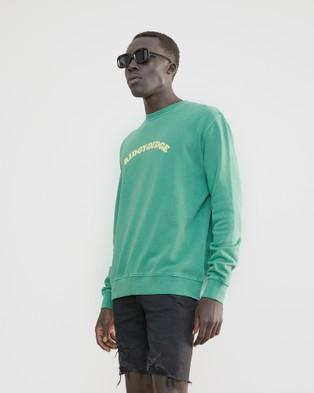 Skwosh Ridgy Didge Sweater - Sweats (green)