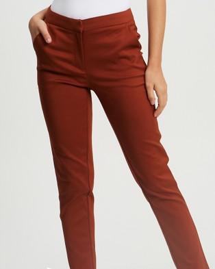 Tussah Juno Pants - Pants (Rust)