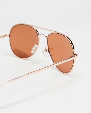 JUNiA Zap Sunglasses   Kids - Sunglasses (Rose Gold)