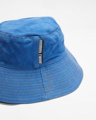 Double Rainbouu Flop Top Hat - Hats (Cobalt)