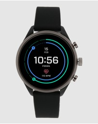 Fossil - Fossil Sport Smartwatch - 41mm Black Silicone