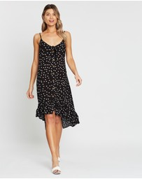 Atmos&Here - Lulu Button Front Dress