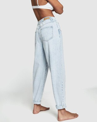 Cotton On Slouch Mom Jeans - Mom Jeans (Apollo Blue)