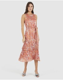 Cooper St - Stevie Pleated Midi Dress