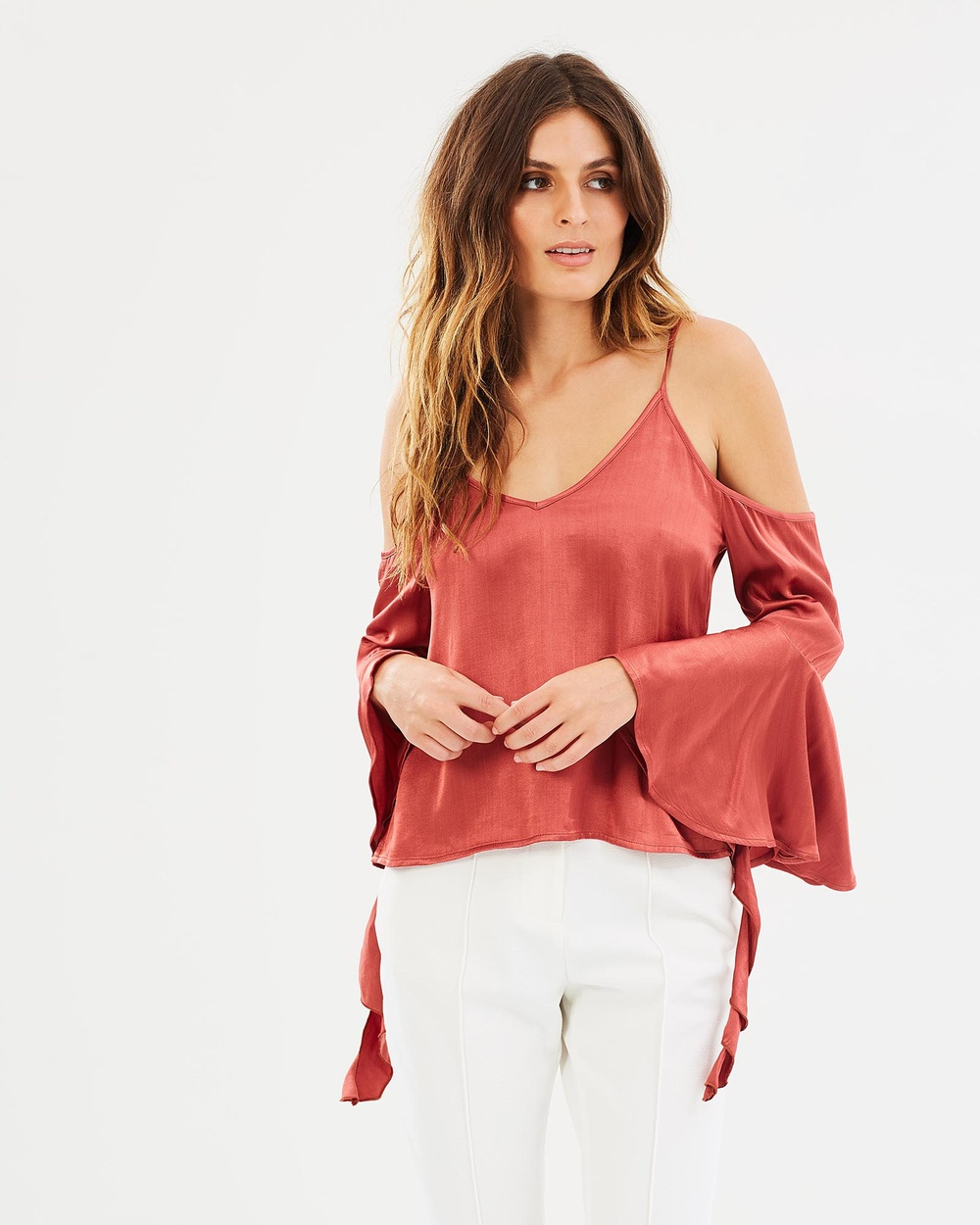 Livingstone Cooper Gretel Blouse Tops Hot Sauce Gretel Blouse