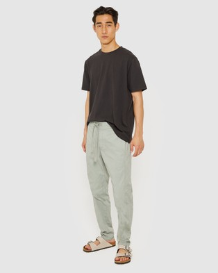 Jag The Relaxed Cotton Pants - Pants (green)